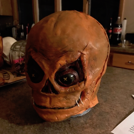 How to Make a Latex Trick r' Treat Sam Mask from Scratch